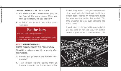 Be the Jury: Lizzie Borden Book Design