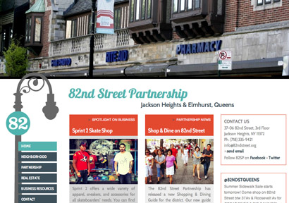 82nd Street BID website